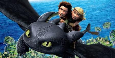 Taquilla USA: un dragón desbanca a Tim Burton