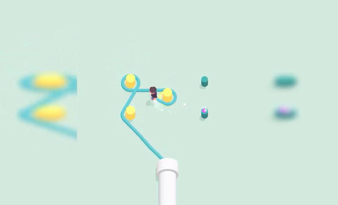 Rope Around! es un adictivo juego de puzzles con una sencilla premisa: hacer pasar la cuerda por todos los puntos