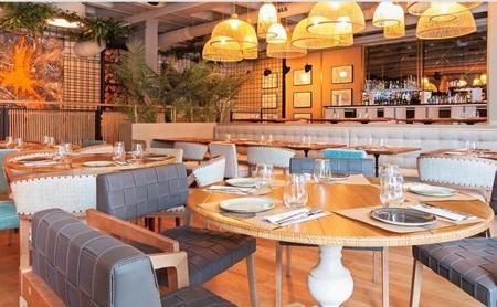 Restaurante Marieta, estilo industrial con aires viajeros