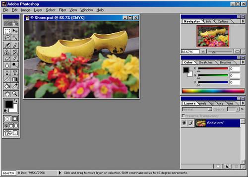 Foto de Evolución de la interfaz de Adobe Photoshop desde 1989 (14/24)