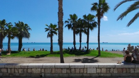 foto playa Málaga