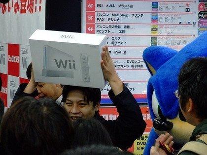 El lanzamiento japonés de Wii, contado desde Tokyo