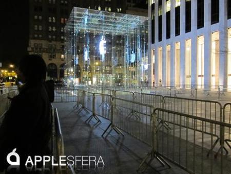 Desde Nueva York: Más medios de comunicación, más afluencia en la cola... y Greg [Especial lanzamiento iPad]