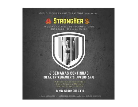 Probamos el método Strongher: seis semanas para bajar grasa y aumentar masa muscular