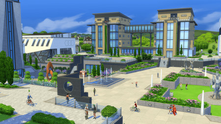 Los Sims 4 Universidad