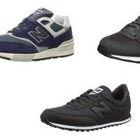 Hasta un 50% de descuento en zapatillas New Balance hoy hasta medianoche en Amazon
