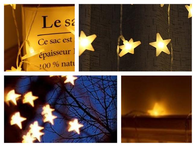 Llena de luz tu terraza con esta guirnalda de estrellas por 5,99 euros y envío gratis en Amazon