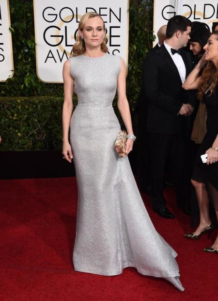 Diane Kruger Globos de Oro 2015