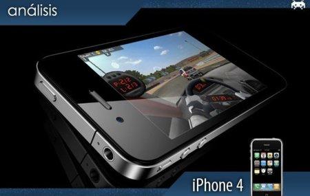 iPhone 4 para jugar, todo está listo
