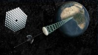 Capturar energía solar desde el espacio