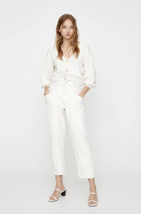 Jeans Slouchy BlancosJeans slouchy blancos