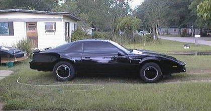 Réplica de Kitt, el coche fantástico
