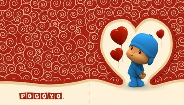 Tarjetas de San Valentín de Pocoyó