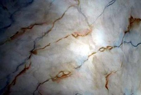 How To Create A Faux Marble Finish 21718170