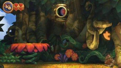 'Donkey Kong Country Returns'. Guía con todas las piezas de puzzle y las letras de KONG