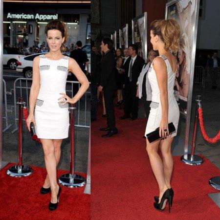 El look de Kate Beckinsale en la premiere Going the Distance
