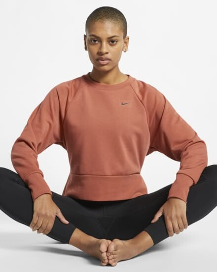 Nike Dri Fit Camiseta Yoga Larga