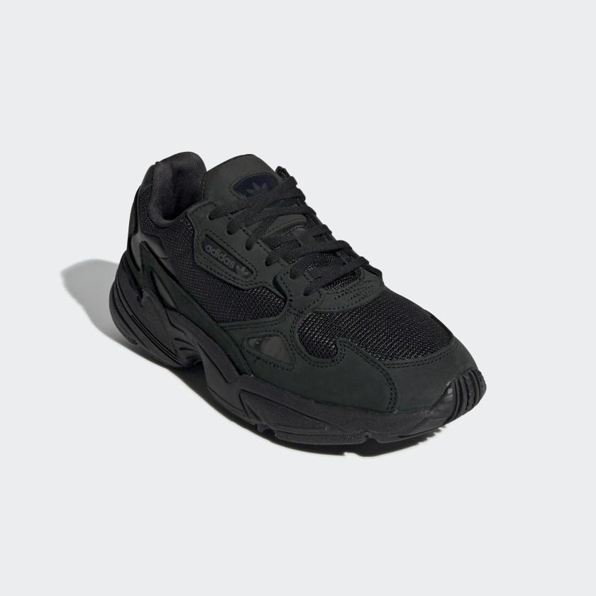 Zapatillas deportivas negras Falcon