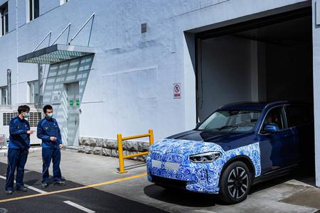 Arranca en China la producción del BMW iX3, el SUV eléctrico de 286 CV y 440 km de autonomía