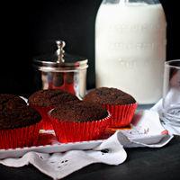 Cuando menos es más: receta básica de magdalenas de chocolate