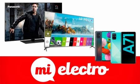 Las mejores ofertas de MiElectro para el fin de semana: cambia de smartphone o de smart TV a precios de lo más interesante