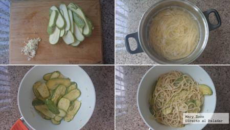 Pasos Espagueti Limon