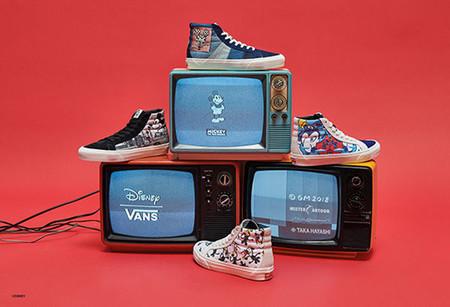 Disney x Vans. Diseños artistas invitados