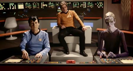 Joaquín Reyes y Ernesto Sevilla parodian 'Star Trek' en el primer vistazo a 'Capítulo 0', la serie de los chanantes para Movistar+