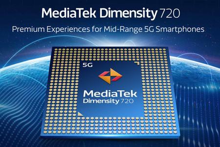 MediaTek Dimensity 720 es el nuevo procesador para la gama media con 5G