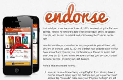 Dropbox adquiere la startup Endorse un mes después de su cierre