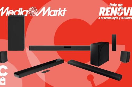 Mejora el audio de tu TV con una de estas barras de sonido con descuento por el Plan Renove de MediaMarkt