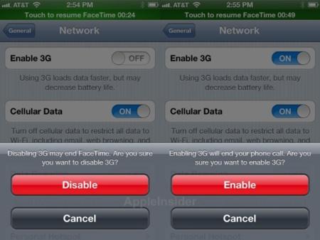 Imagen de la semana: las nuevas alertas de FaceTime en iOS 5.1.1