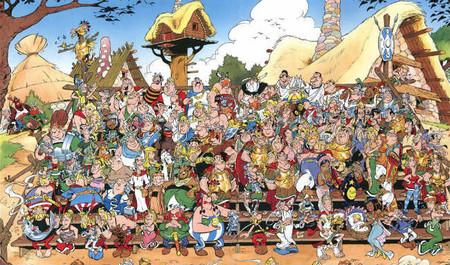 Las doce pruebas de Asterix
