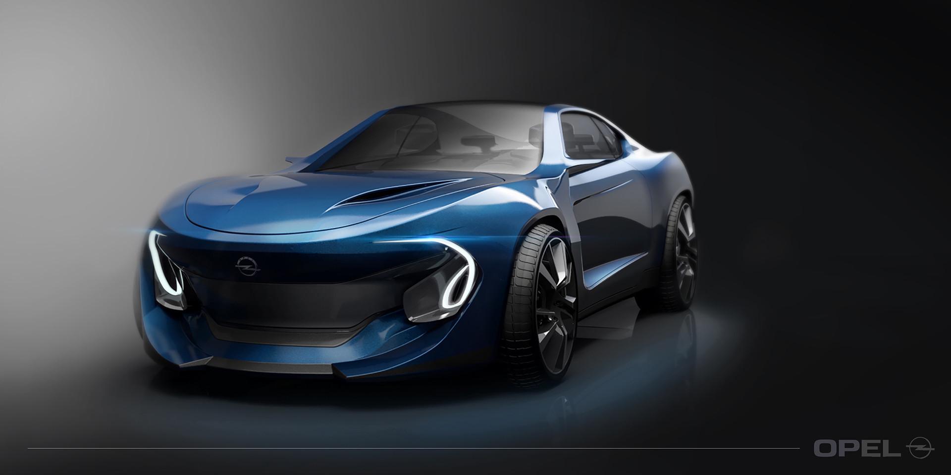 Foto de Opel Manta Concept - Behance (1/8)