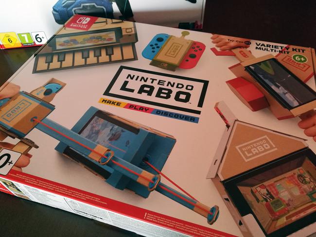 Nintendo Labo: Toy-Con 01 - Kit variado