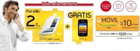 Jazztel refuerza su apuesta por terminales con un nuevo pack de smartphone más tablet