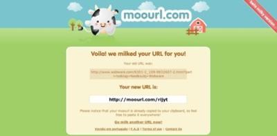 Moourl, otro acortador de direcciones largas