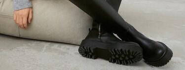 La suela ruda es la mejor acompañante de esta temporada, y Pull & Bear nos lo demuestra en su nueva colección de botas y botines