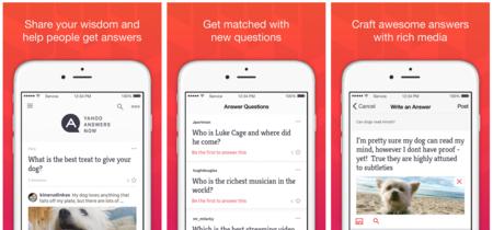 Yahoo quiere que te acuerdes de Yahoo Respuestas en iOS con su nueva aplicación oficial