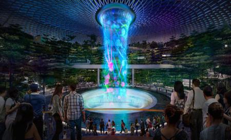 ¿Es eso una cascada? Singapur entra en la competición por el aeropuerto más increíble del mundo