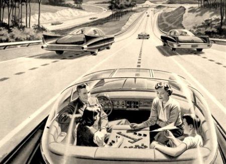Coches autónomos (visión en los años 60)