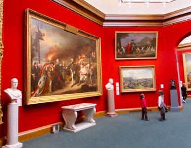 Edimburgo con niños: las Galerías Nacionales de Escocia, con mucho arte