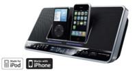 Dock de JVC para dos iPhone/iPod