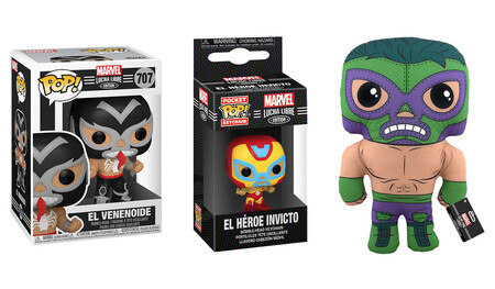 Los Funko POP de Marvel con Lucha Libre AAA ya se pueden comprar en México: así los puedes preodenar y algunos están en oferta