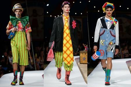 Moschino Convierte Su Nueva Coleccion De Primavera En Todo Un Circo 1
