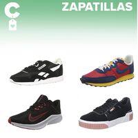 Chollos en tallas sueltas de  zapatillas Puma, Reebok o Nike en Amazon
