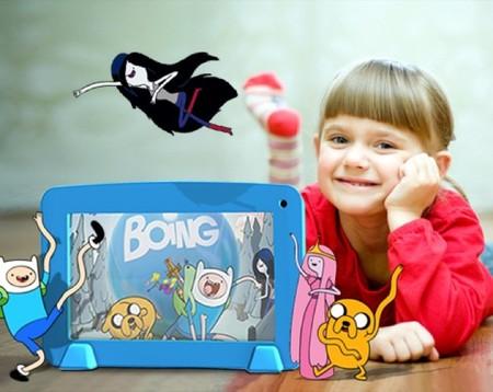 Boing TV y Famosa lanzan una nueva tableta para niños