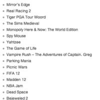 Electronics Arts prepara 20 juegos para Nokia y sus Windows Phone 7