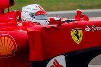 Sebastian Vettel da sus primeros kilómetros al volante de un Ferrari en Fiorano