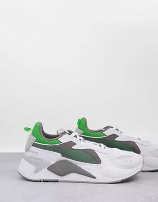 Zapatillas de deporte blancas y grises RS-X Hard Drive de PUMA